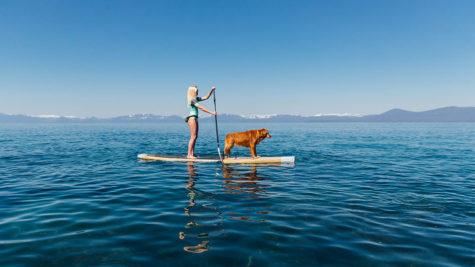 Paddleboard Lake Tahoe