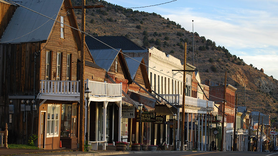 Virginia City Nevada Street View