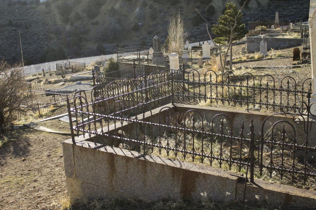 Silver Terrace Cemetery Virginia City, Nevada
