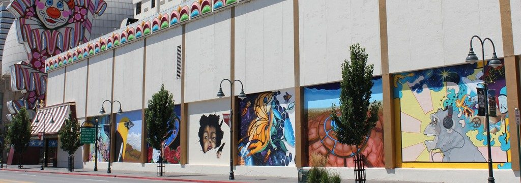 24 hour mural marthon contest at circus circus downtown reno