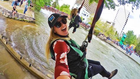 Hannah Zipline Reno River Festival