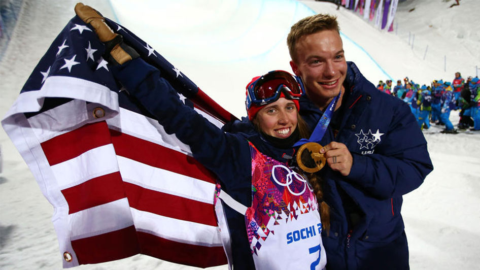 David Wise and Maddie Bowman Olympics