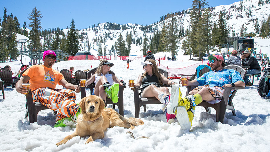 Alpine Meadows Spring Skiing Tahoe