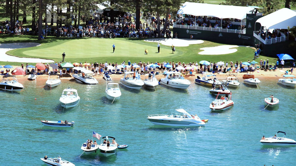 American Century Championship Celebrity Golf Tournament Lake Tahoe