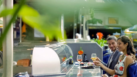 Atlantis Sushi Oyster Bar on Sky Terrace