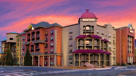 Boomtown Casino Hotel Exterior