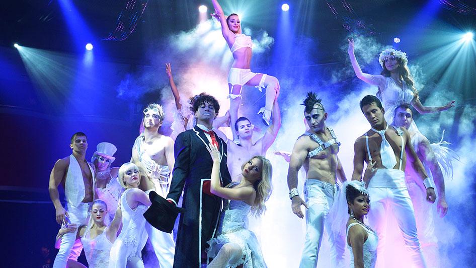 Eldorado Reno Show Cirque Le Noir