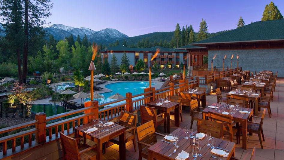 Hyatt Lake Tahoe outdoor pool