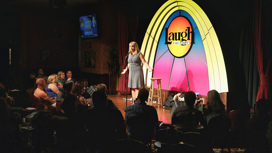 Silver Legacy Resort Laugh Factory Comedy Club