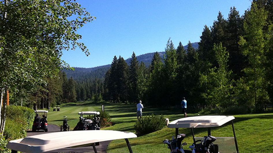 Brockway Golf Coure Lake Tahoe