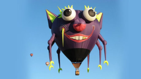 Great Reno Balloon Race Purple People Eater