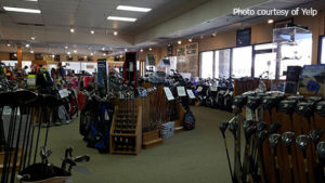 Golf Headquarters sports shopping