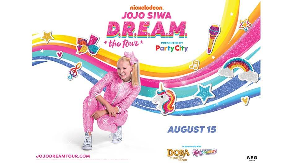 Nickelodeon's JoJo Siwa D.R.E.A.M The Tour with special guests The Belles