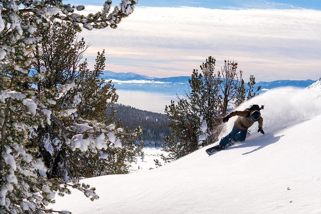 Backcountry Skiing Loki