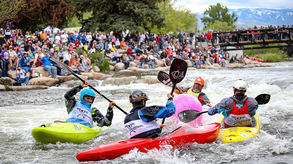 Reno River Festival Kayak Group