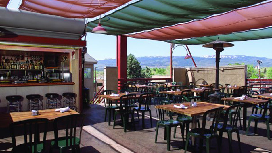 Silver Peak Restaurant and Brewery Patio
