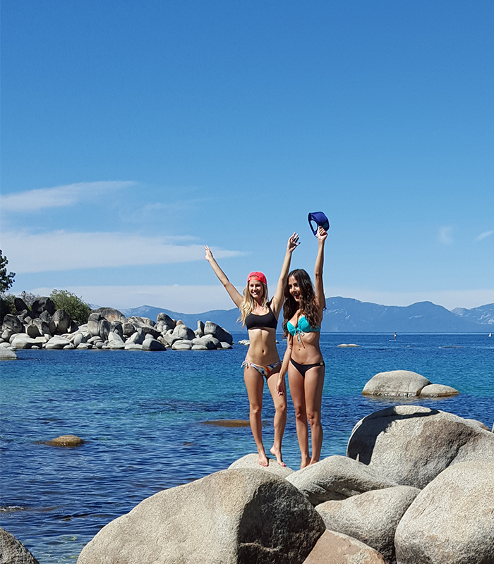 Tahoe Rocks Girls Sand Harbor
