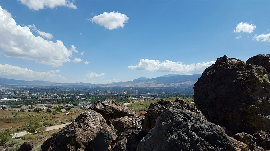 University Ridge Reno view