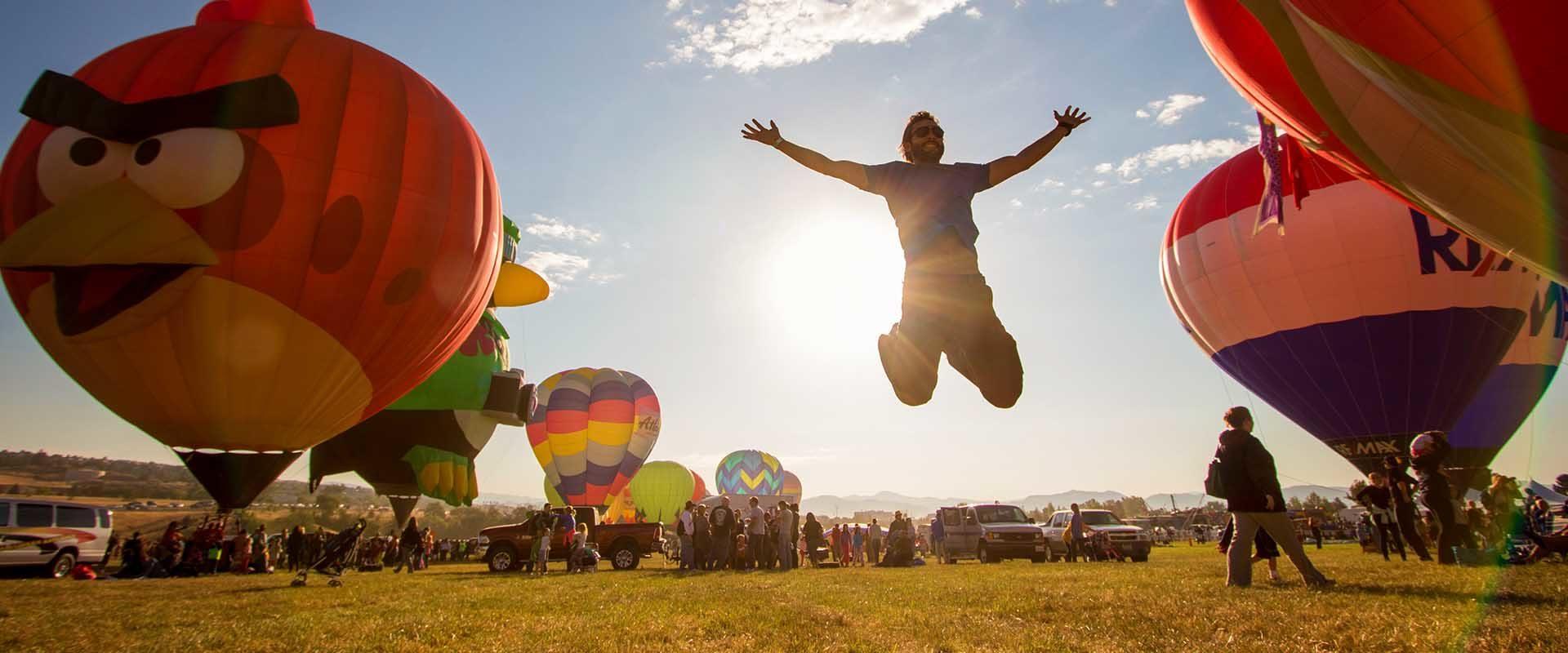 Alex Chacon Great Reno Balloon Race