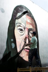 Mural by Rafael Blanco