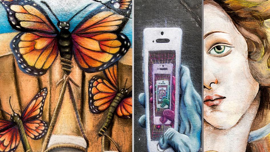 Reno Chalk Art Festival Atlantis Reno
