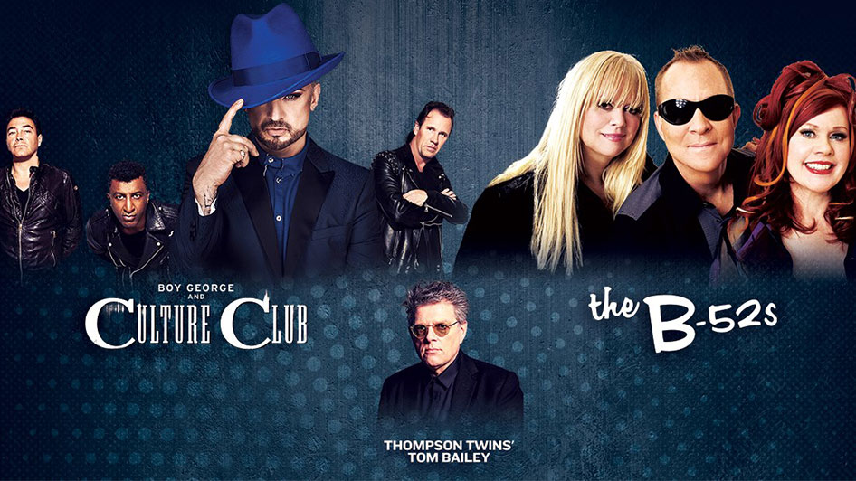 The Life Tour: Boy George and Culture Club, The B-52's and Thompson Twins' Tom Bailey