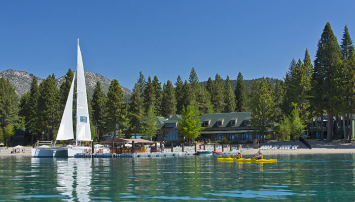 Lake Tahoe Hyatt Catamaran