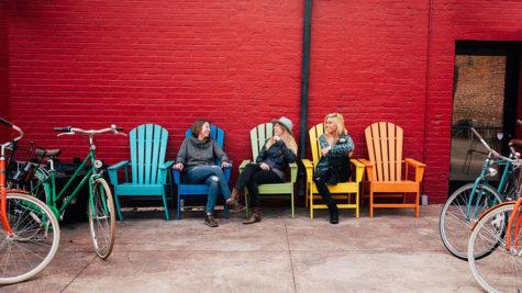 West Street Market Adirondack Chairs