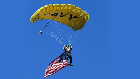 Navy Week Reno Carson City Leap Frog Parachute Team