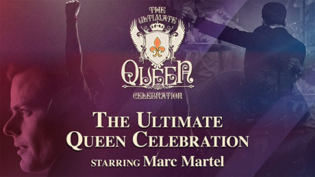 Queen tribute band, starring Marc Martel, set to perform at the Atlantis Casino Resort and Spa in October 2018