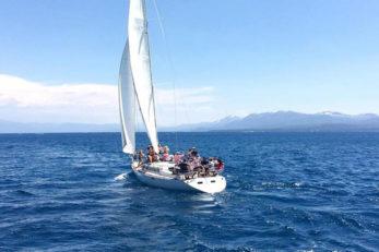 Sailing Tahoe