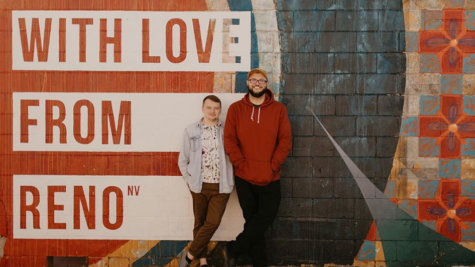 With Love From Reno, Mural, Dickerson Road