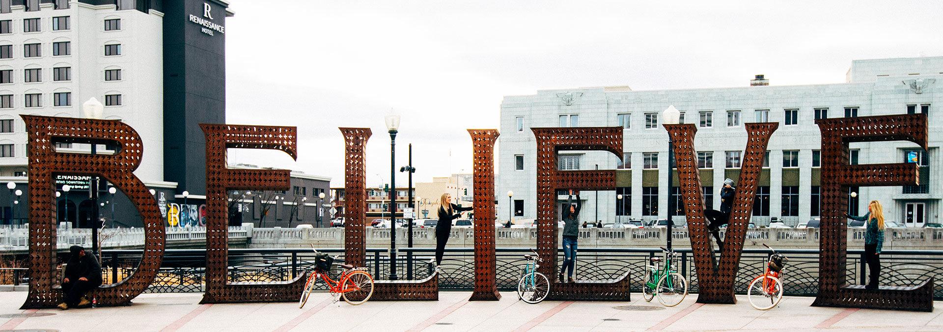 Believe Reno City Plaza