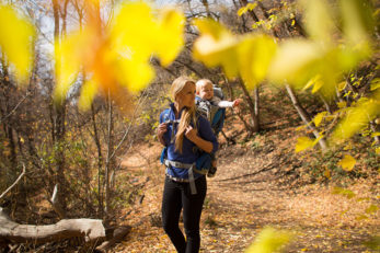 Family Hiking Fall