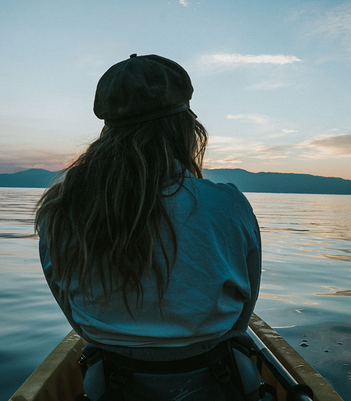 Lake Tahoe and Mountains