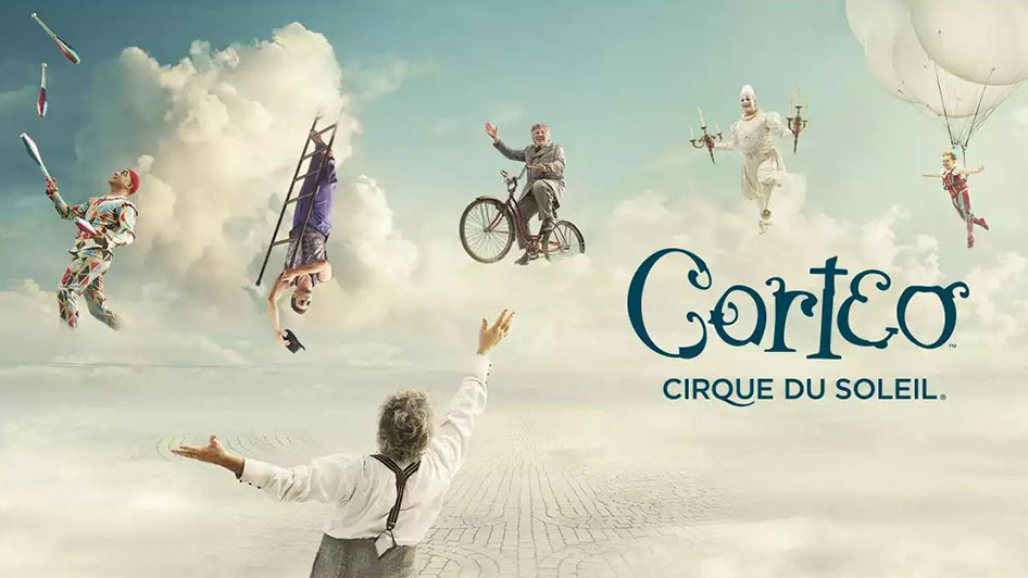 Corteo Cirque du Soleil Lawlor Events Center Reno