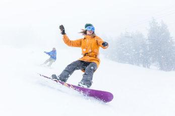 Laura Visconti Snowboard Lake Tahoe