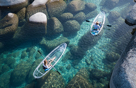 Clear Kayak Tahoe