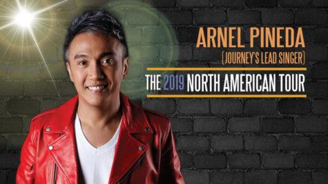 Arnel Pineda North American Tour Silver Legacy Reno