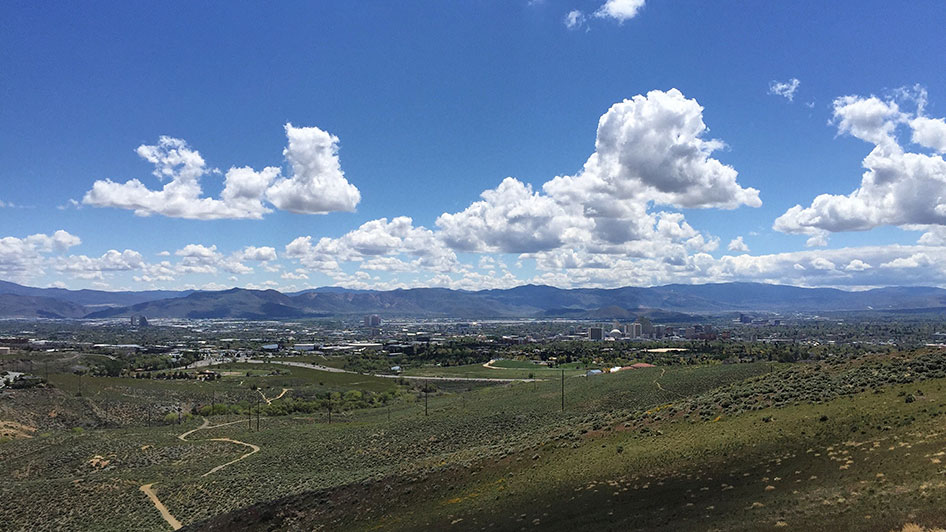 Reno Skyline View Rancho San Rafael