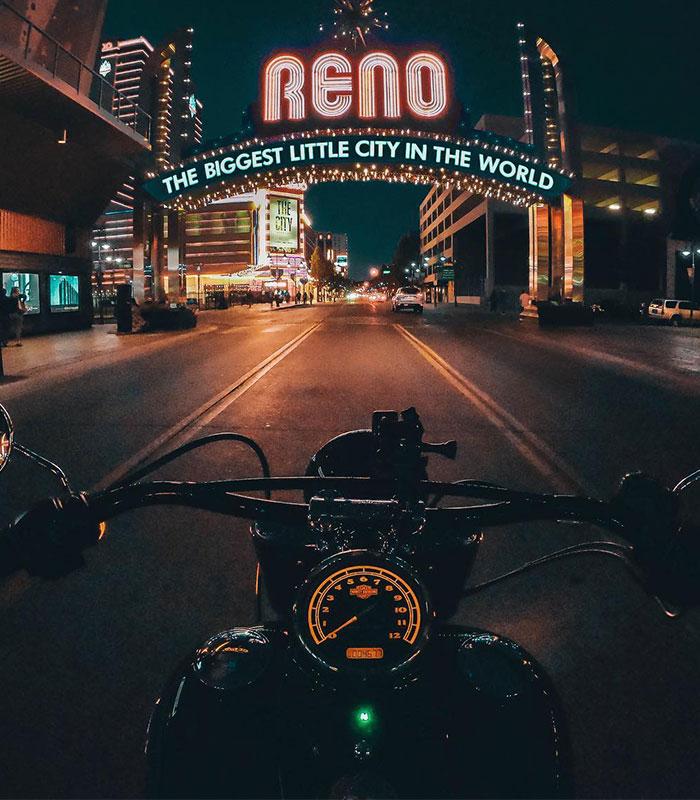 Hannah Motorcycle Arch
