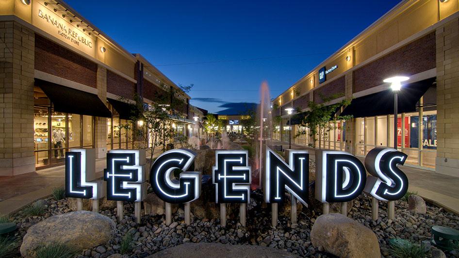 Legends at Sparks Outlet Shopping Reno Sparks