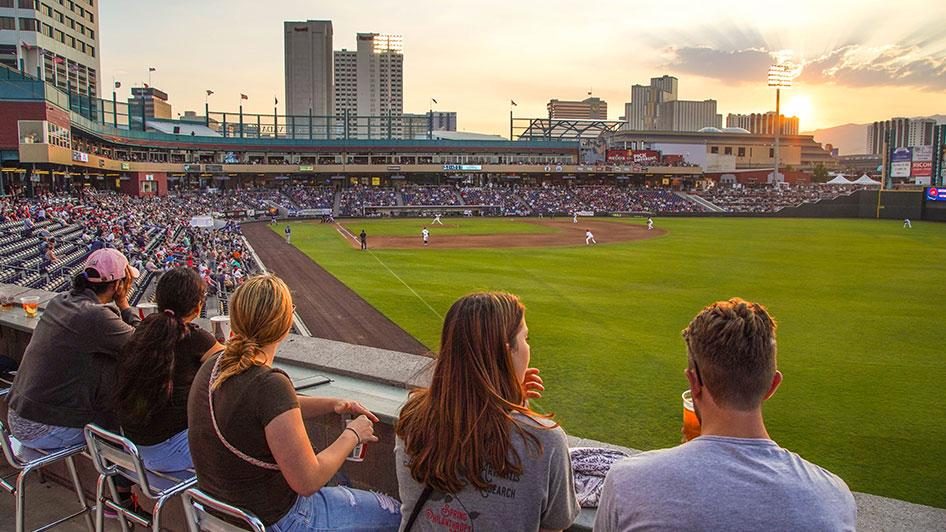 Reno Aces Baseball Greater Nevada Field