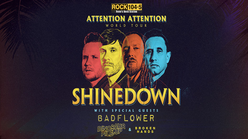 Shinedown: ATTENTION ATTENTION World Tour