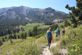 Hiking Mt Rose