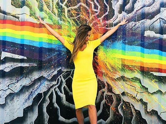 Miss Kentucky USA Jordan Weiter Mural Reno