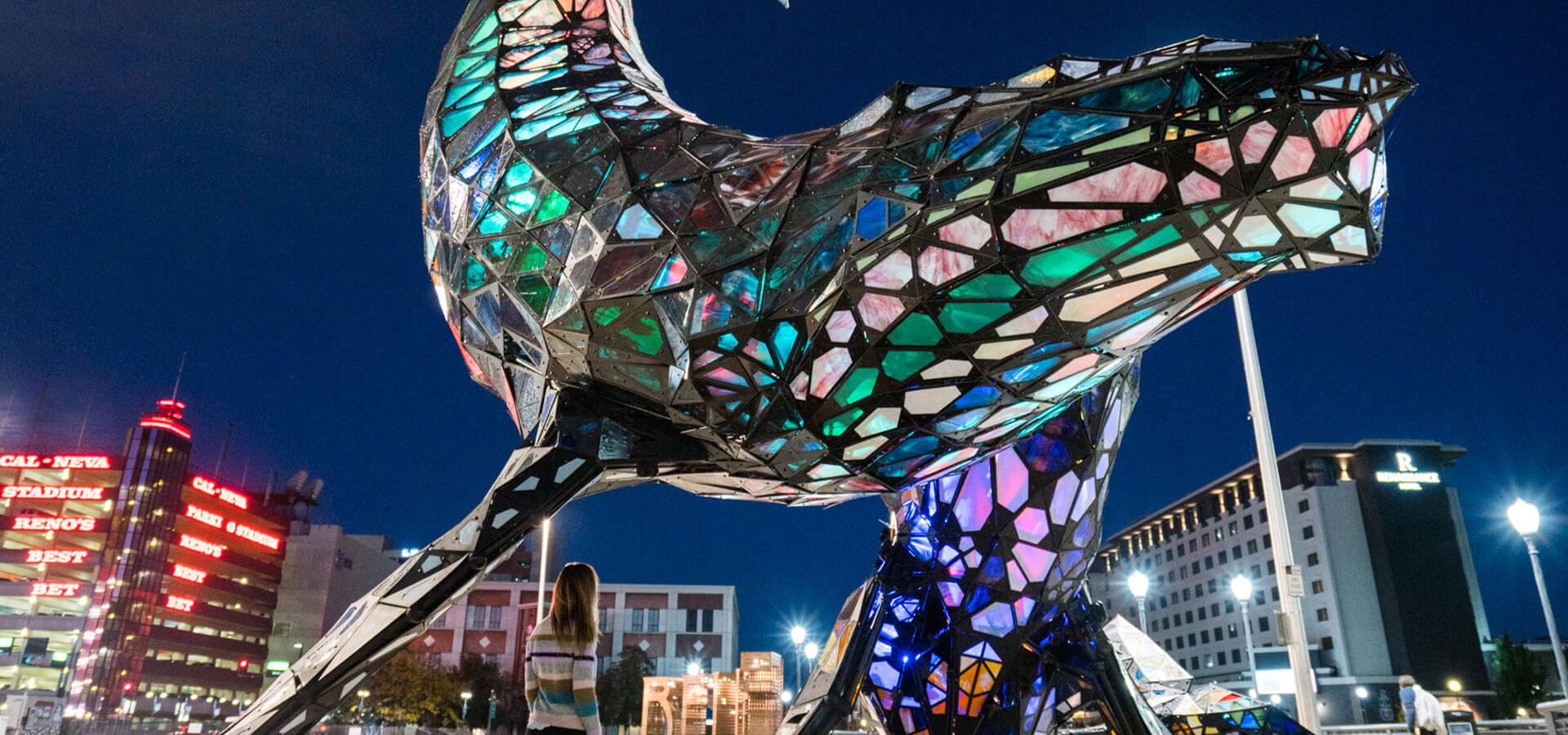 JessWandering Space Whale Reno City Plaza