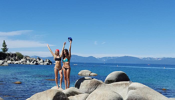 Blonde Abroad Tahoe