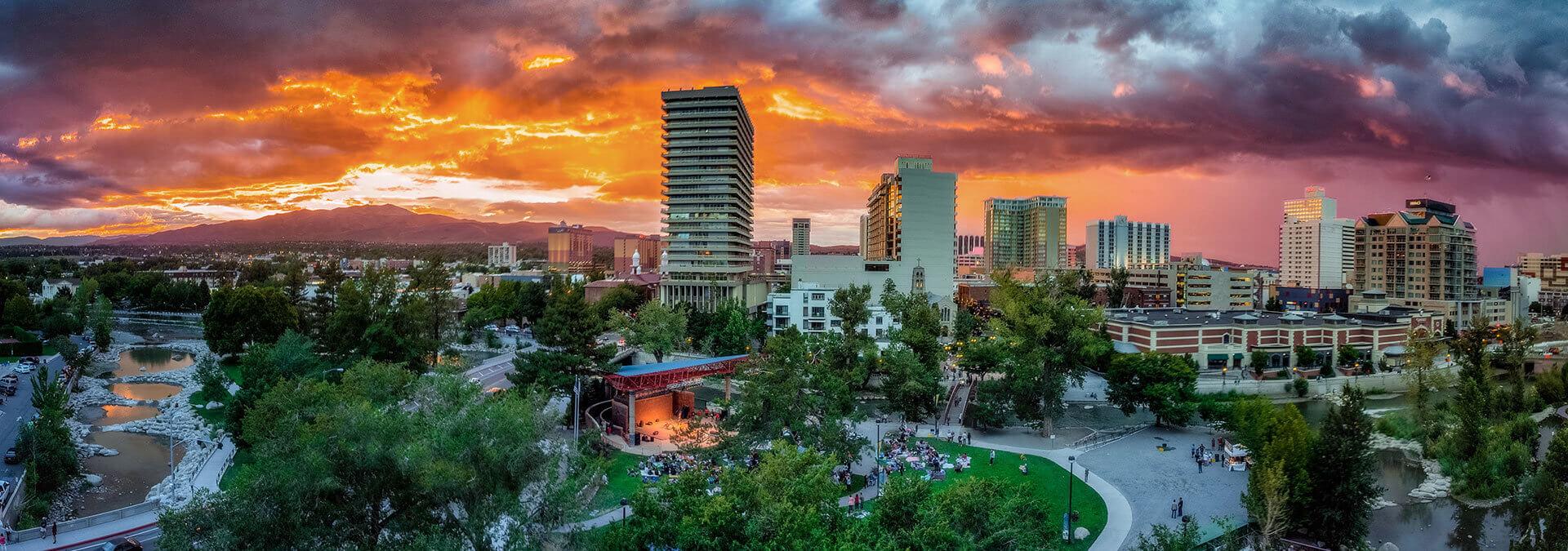 Downtown Reno Skyline