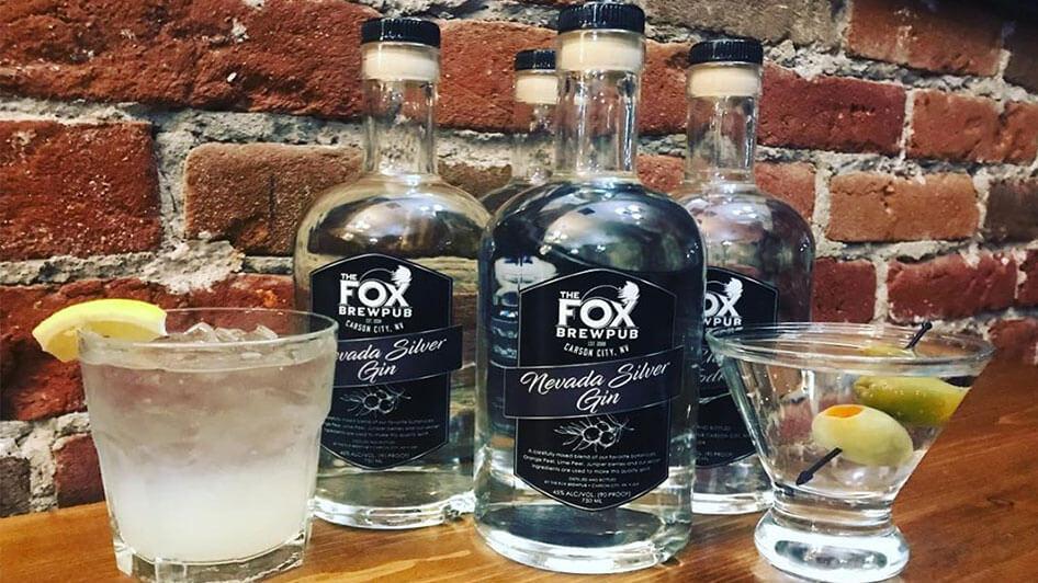 Drinks at Fox Brewpub
